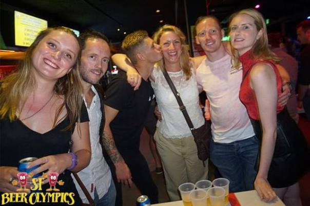 youth hostel party